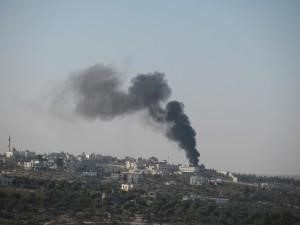 e-waste burning in the air of Idhna village